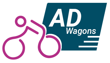 adwagons logo, tricycle advertising in hyderabad